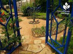 Image result for blue garden
