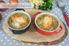 French Onion Soup Recipe Turkish Fashion, Turkish Style, Beef Broth, French Onion, Soup Recipes, Food And Drink, Parmesan, Stuffed Peppers, Recipes