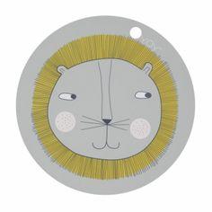 OYOY Platzset für Kinder Löwe