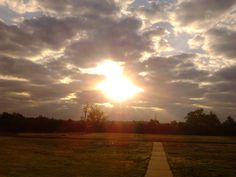 My pic of another beautiful Sunrise on my morning walk!
