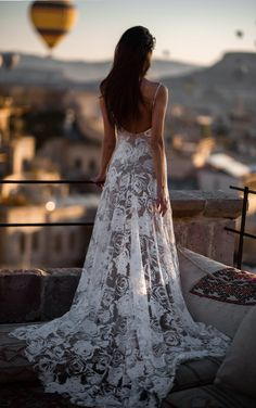 The ROSA gown in Cappadocia, Turkey | Grace Loves Lace