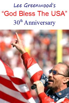 """""""God Bless the USA""""--Lee Greenwood Gives me goosebumps everytime. Conway Twitty, American Pride, American Flag, Romance And Love, Greatest Songs, God Bless America, Inside Out, My Favorite Music, Love Words"""