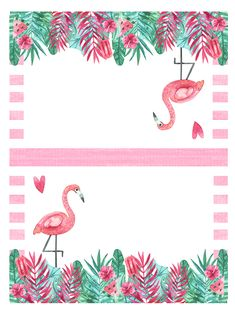 Come on in and get your brand new hot off the presses Free Printable Flamingo Party Pack. Having a Party.we have you covered with everything you need! Flamingo Party, Flamingo Baby Shower, Flamingo Birthday, Party Decoration, Pool Decorations, Tropical Party, Party Banners, Luau Party, Party Signs