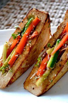 tofu sandwich.