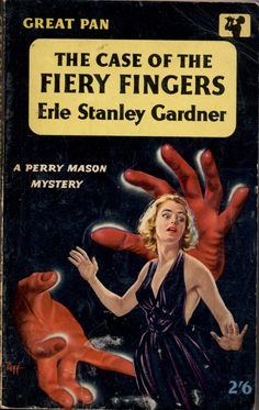 The Case of the Fiery Fingers by Erle Stanley Gardner / Pan G224, 1959