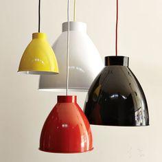 Industrial Pendant Light from @west elm  via @Rue Magazine