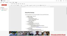 Google Docs are Currently on the Market in G+ Hangouts | Tips [N] Trick 4 [F]un