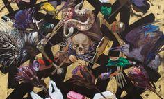 """Helmut Starcke - """"Elegies to the Slender Scrub"""" - October/November : UPCOMING : CIRCA Gallery Scrubs, November, Gallery, Anime, Art, November Born, Art Background, Roof Rack, Kunst"""