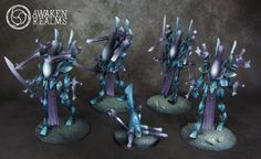 The Internet's largest gallery of painted miniatures, with a large repository of how-to articles on miniature painting Eldar 40k, Warhammer Eldar, Warhammer Paint, Dark Eldar, Warhammer Models, Paint Schemes, Color Schemes, Warhammer 40k Miniatures, The Grim
