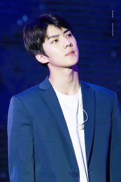 Sehun -  160326 2016 K-Friends Concert In Shanghai Credit: Solar Wind.