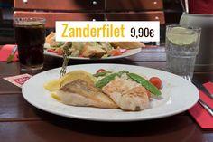 Auf unserer Mittagskarte: Zanderfilet mit Risotto.   Jede Woche gibt es neue Gerichte bis 9,90? auf unserer Mittags-/Wochenkarte.    Don Luca mexikanisches Restaurant   www.donluca.de #DonLuca #mexikanisch #Restaurant #Bar #Cocktailbar #Cantina #mexican #Mexicaner #Muenchen #Schwabing #Don #Luca #HappyHour #mexikanischesEssen