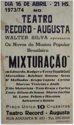 1973-74 - Mixturação.
