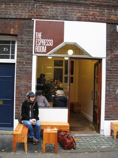 The Espresso Room, London Coffee Store, Coffee Cafe, London Coffee Shop, Room London, Retail Interior, Hot Spots, London Travel, Store Fronts, Espresso