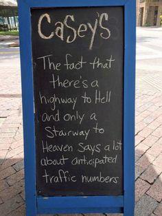 Highway vs Stairway