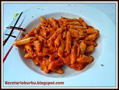 Recetario Burbu: Macarrones con atún y queso cremoso th