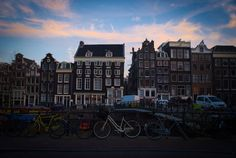 Amsterdam: bikes and districts by Francesco Di Mauro