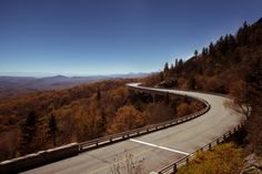 Linn- Cove Viaduct, part of the Blue Ridge Parkway, which is a 469-mile drive that traverses many of the last remaining wilderness areas in Southern Appalachia