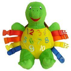 "Buckle Toy ""Bucky"" Turtle Buckle Toys http://www.amazon.com/dp/B0033C13KS/ref=cm_sw_r_pi_dp_lomVvb14T7YHX"