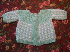 Ravelry: Project Gallery for Baby Blue Sweater pattern by Jeannine LaRoche