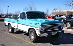 I hope my baby looks this good someday! Classic Ford Trucks, Classic Cars, 1964 Ford Falcon, Trucks And Girls, Old Fords, Vintage Trailers, Car Painting, Cool Trucks, Pickup Trucks