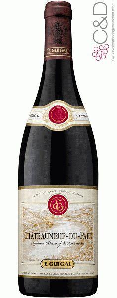 Folgen Sie diesem Link für mehr Details über den Wein: http://www.c-und-d.de/Rhone/Chateauneuf-du-Pape-2010-E-Guigal_34851.html?utm_source=34851&utm_medium=Link&utm_campaign=Pinterest&actid=453&refid=43   #wine #redwine #wein #rotwein #rhone #frankreich #34851