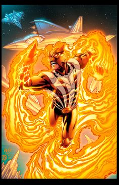 Sunfire Comics | sunfire by xxnightblade08xx cartoons comics traditional media comics ...
