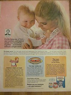 Gerber Baby Food Commercial Belly