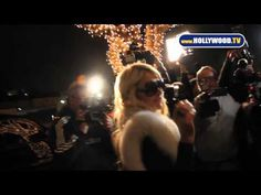 Radiant Paris Hilton Looks Gorgeous Without Real Fur - YouTube