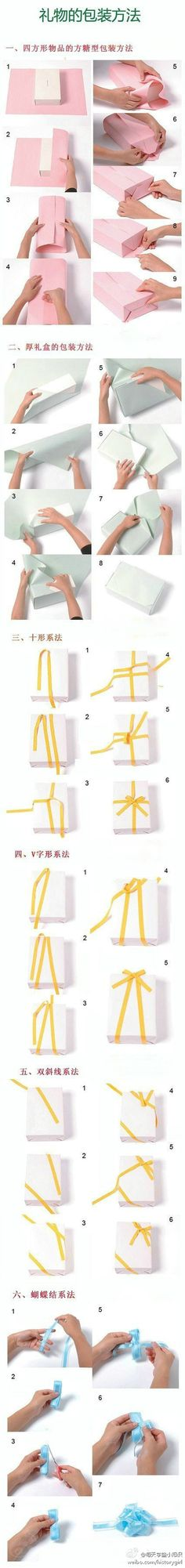 Regalo embalaje método Daquan