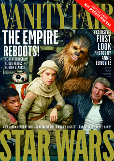 Vanity Fair's Star Wars: The Force Awakens cover by Annie Leibovitz