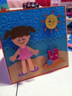 Beach Everyday Paper Doll - Cricut  www.inspiremepink.com