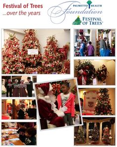 It's time to get into the #holiday spirit with #FestivalofTrees! Enjoy a free weekend of #tree & #wreath displays and family friendly activities Nov. 16-18 in #columbiasc.