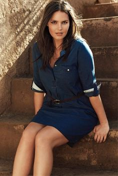 girlzwithcurves: candicehuffine: MiLK Management Candice Huffine is looking incredible in the new SS15 Violeta by MANGO collection. Photography by Mario Sierra shot in Marrakesh.