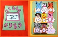 Lapbook numeri scuola infanzia
