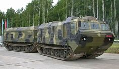 DT-30 Vityaz Articulated Tracked Vehicle