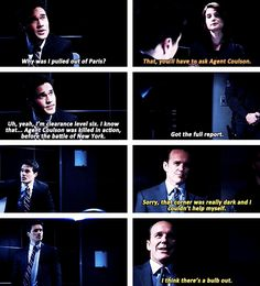 """When Coulson couldn't help himself. GIF 