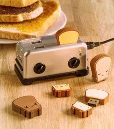 Hub/Ports USB Grille-Pain