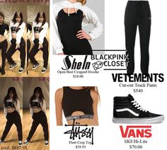 Image result for blackpink as if it's your last dance practice outfit