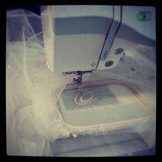 Making monograms on a veil Wedding Fair, Day Work, Monograms, Veil, Photoshoot, Pictures, Photos, Photo Shoot, Photo Illustration