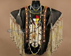 Native American War Shirt -Creek Indian