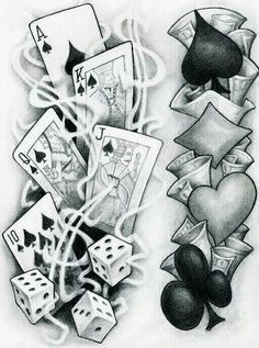 Tattoos Discover Flash tattoo 77 ink tattoo drawings card tattoo designs y c Tattoo Sketches Tattoo Drawings Card Tattoo Designs Arte Lowrider Herren Hand Tattoos Dice Tattoo Vegas Tattoo Casino Tattoo Tattoo Zeichnungen Tattoo Sketches, Tattoo Drawings, Art Drawings, Drawing Art, Dice Tattoo, Poker Tattoo, Card Tattoo Designs, Herren Hand Tattoos, Arte Lowrider