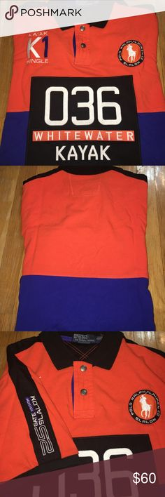 Polo Ralph Lauren Polo Kayak Logo New never worn (no tags) Polo by Ralph Lauren Shirts Polos