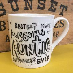 'Awesome' Auntie Mug