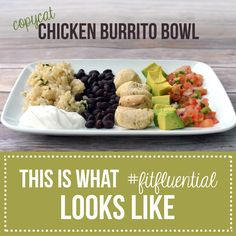 Copycat Chicken Burrito Bowl