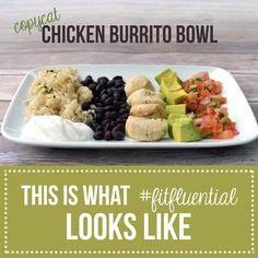 Copycat Chicken Burrito Bowl