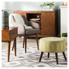 Mid Century Furniture Built in Shelves Modern Living Room Makeover