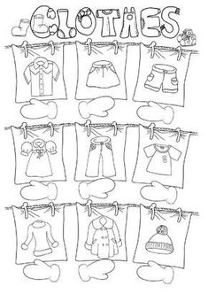 Clothes - Interactive worksheet