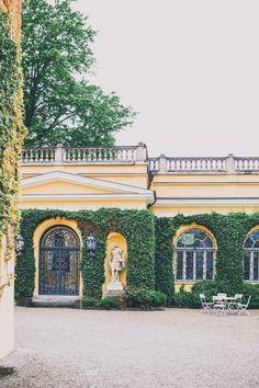 Hochzeit in der evangelischen Akademie Schloss Tutzing am Starnberger See ⋆ Glamouröse Hochzeit im Traumgarten unter Nieselregen <3