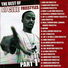 DJ CLUE Freestyles Vol's 1,2 Mixtapes 2 CD Set Compilations