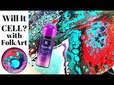 Can FLUID ART get CELLS with Rain-X? More MESMERIZING Acrylic Pouring - YouTube
